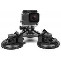 Крепление SHOOT с 3 присосками 6.5 см для экшн камер (EKEN, GoPro, Xiaomi, GitUp, SJCAM)