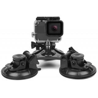 Крепление SHOOT с 3 присосками 6.5 см для экшн камер (EKEN, GoPro, Xiaomi, GitUp, SJCAM). Фото.