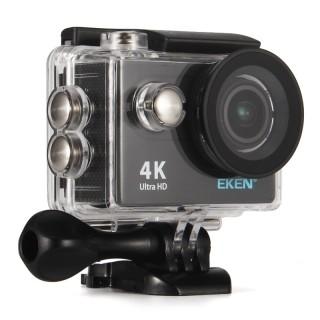 Камера EKEN H9R (1080p, 60fps, подводный бокс, Wi-Fi, пульт). Фото.