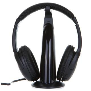 Беспроводные наушники V451 (черные). Фото.
