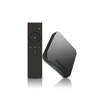 MECOOL KM9 (Amlogic S905X2, 4GB/32GB, LAN, Android TV 8.1) Smart TV BOX. Фото.