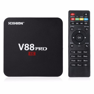 SCISHION V88 Pro (Amlogic S905X, 1GB/8GB, LAN, Android 6.0) TV BOX. Фото.