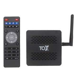 TOX1 (Amlogic S905X3, 2-4GB/16-32GB, LAN, Android 9.0). Фото.