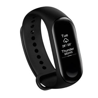 Xiaomi Mi Band 3 (фитнес браслет, black, IP68). Фото.