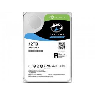 "Жесткий диск 12TB Seagate SkyHawk AI ST12000VE001 (7200 RPM, 256MB Cache, SATA 6.0Gb/s, 3.5""). Фото."