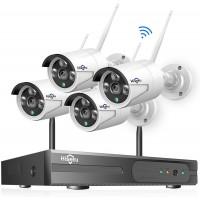 Система видеонаблюдения Hiseeu (8CH) + 4 IP камеры