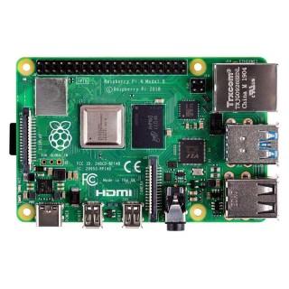 Микрокомпьютер Raspberry Pi 4 Model B 4GB. Фото.