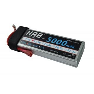 Аккумулятор HRB (3S, 5000 мАч, 50C). Фото.