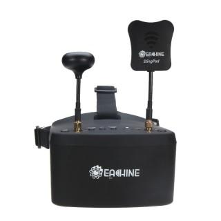 "FPV шлем Eachine EV800D (5.0"", 800x480, 40 каналов, DVR, Diversity). Фото."