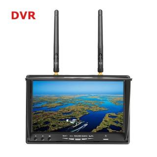 """FPV монитор Eachine LCD5802D (7.0"""", 800x480, 40 каналов, Diversity). Фото."""