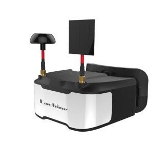 "FPV шлем Eachine VR D3 (5.0"", 800x480, 40 каналов, Diversity). Фото."