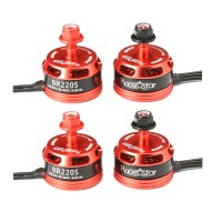 4 мотора Racerstar Racing Edition BR2205 (2600KV 2-4S Brushless Motor CW/CCW)