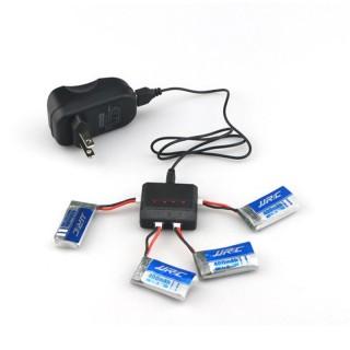 4 аккумулятора JJRC H31 + зарядное устройство. Фото.