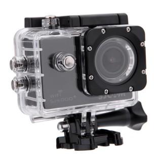 Камера SJCAM SJ4000 Plus (2K, 30fps, подводный бокс, Wi-Fi). Фото.