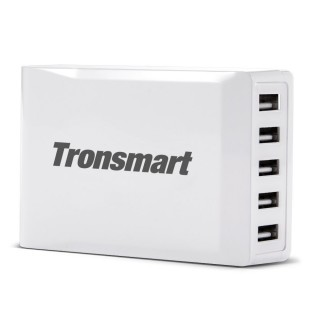 Зарядное устройство Tronsmart (8 А, 5 USB портов). Фото.