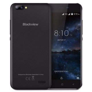 "Blackview A7 (5.0"" 1280х720, MT6580, 2 sim, 1ГБ/8ГБ, Android 7.0). Фото."