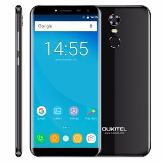 "Oukitel C8 (5.5"" 1280х640, MT6580A, 2 SIM, 2ГБ/16ГБ, Android 7.0). Фото."