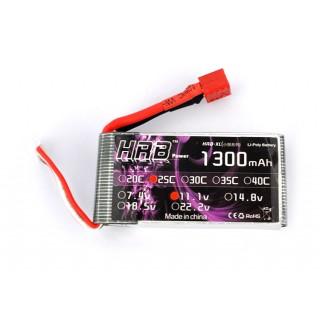 Аккумулятор HRB (3S, 1300 мАч, 25C). Фото.