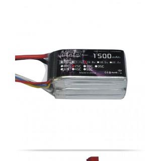 Аккумулятор HRB (4S, 1500 мАч, 25C). Фото.