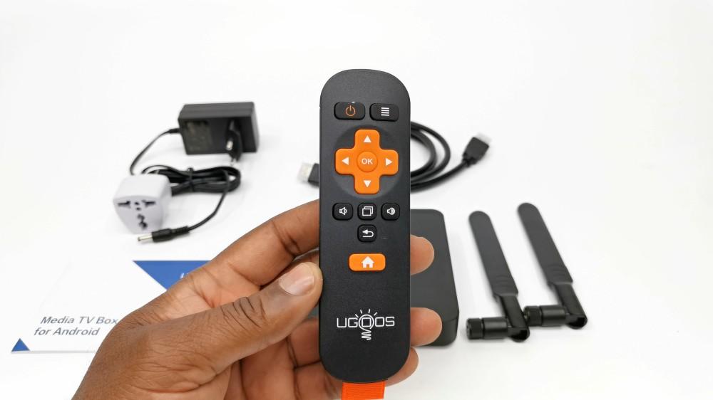 UGOOS AM6 Plus remote