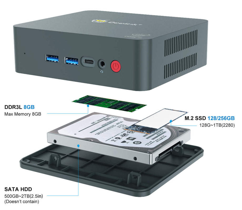 Beelink U57 Memory, SSD, SATA