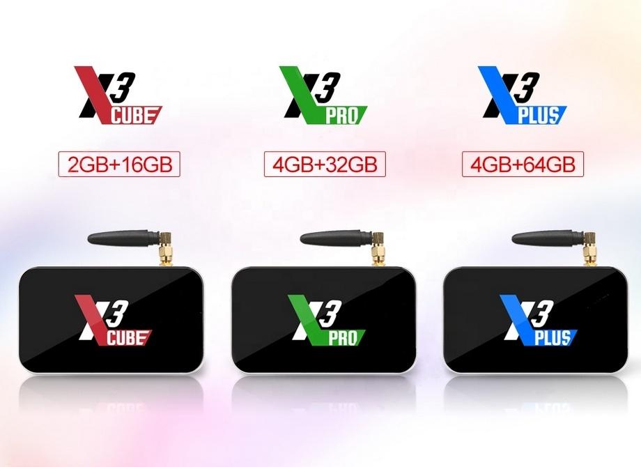 X3 Cube vs X3 Pro vs X3 Plus