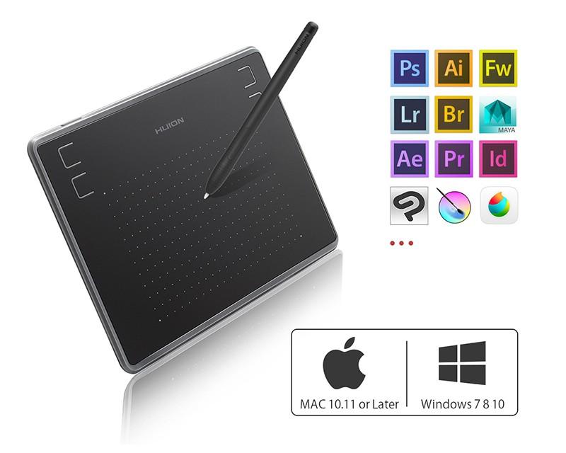 Графический планшет Huion INSPIROY H430P