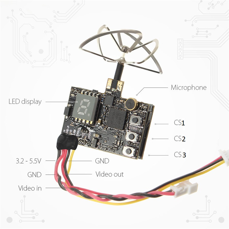 Eachine DTX03 with DVR