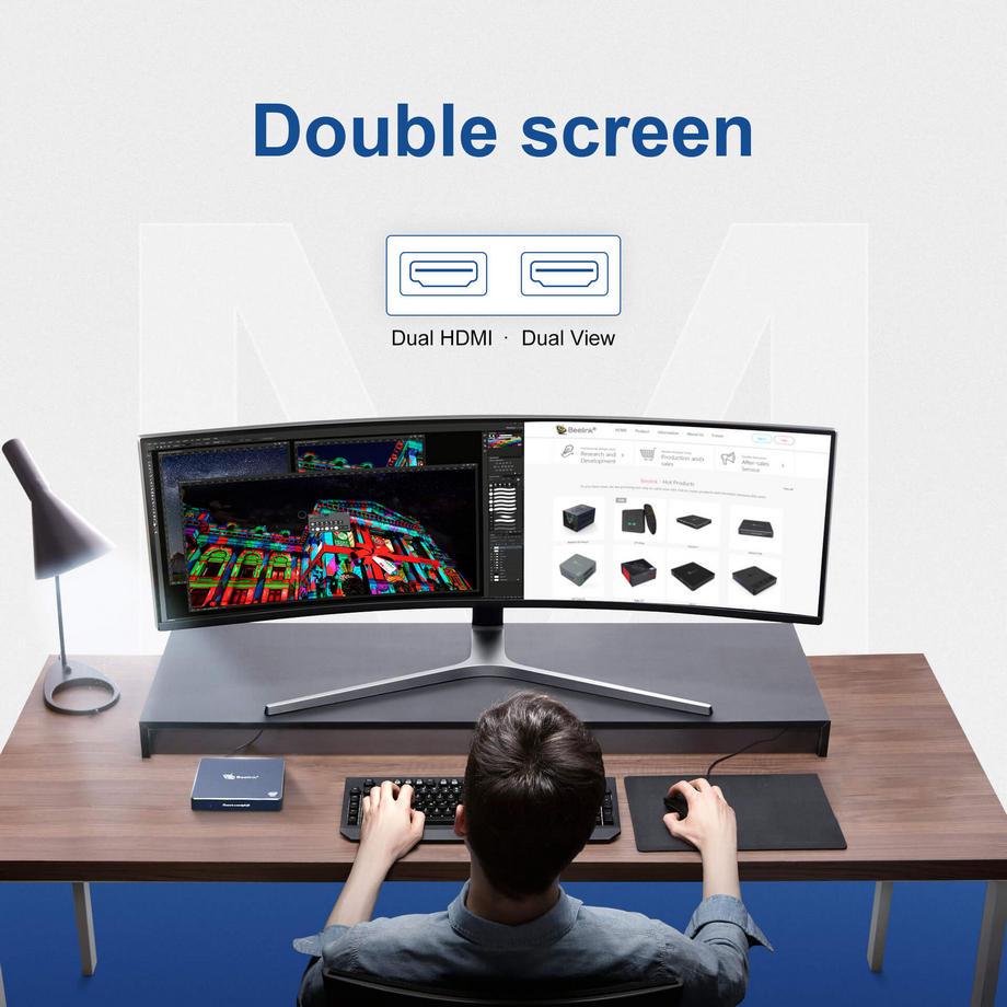 Beelink Gemini M dual HDMI